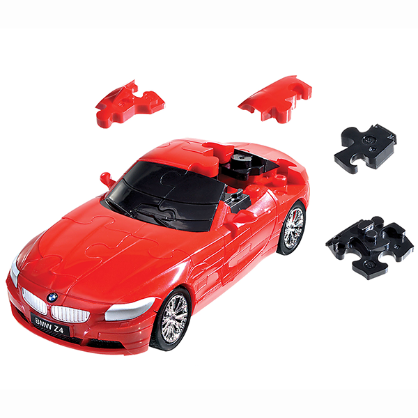 3D PUZZLE CARS BMW Z4 RED