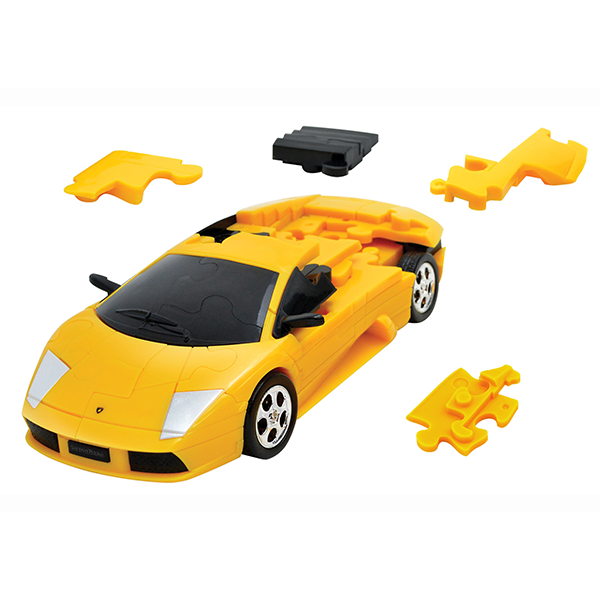 3D PUZZLE CARS LAMBORGHINI YELLOW