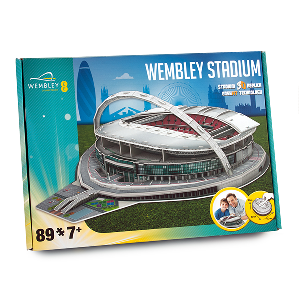 FOOTBALL STADIUM 3D PUZZLES - WEMBLEY STADIUM