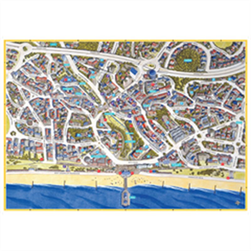 JIGRAPHY CITYSCAPES BOURNEMOUTH 100 PIECE
