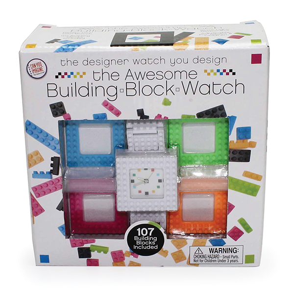 THE BUILDING BLOCK WATCH