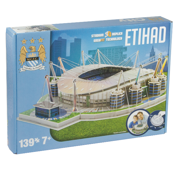 FOOTBALL STADIUM 3D PUZZLES- MANCHESTER CITY- ETIHAD