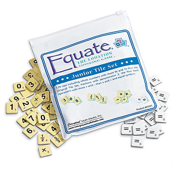 EQUATE JUNIOR TILE SET
