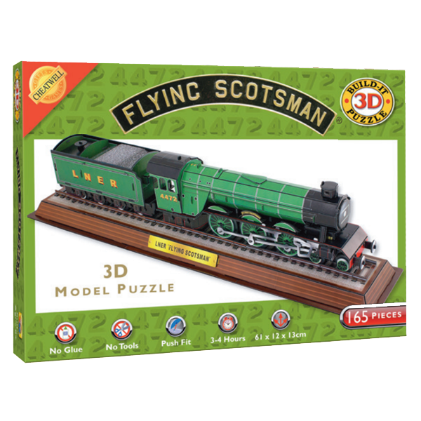 3D THE FLYING SCOTSMAN