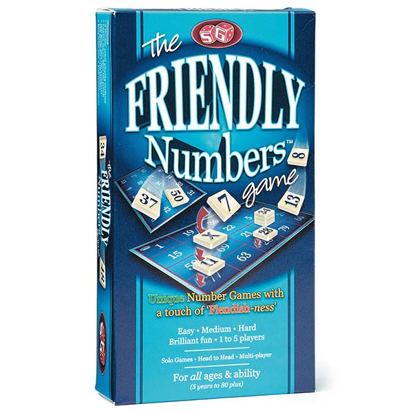 FRIENDLY NUMBERS