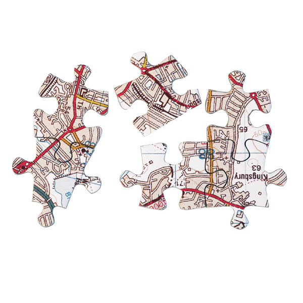 MAP JIGSAW PUZZLE LANDRANGER - ( 400 PIECE )