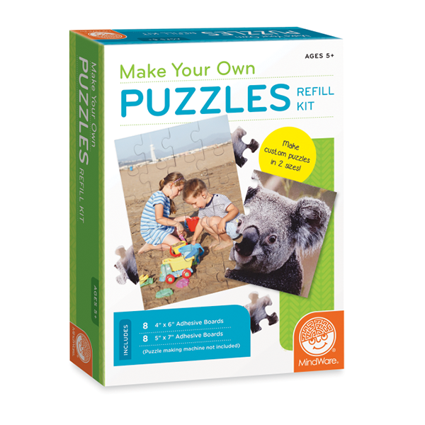 MAKE YOUR OWN PUZZLES - REFILL KIT