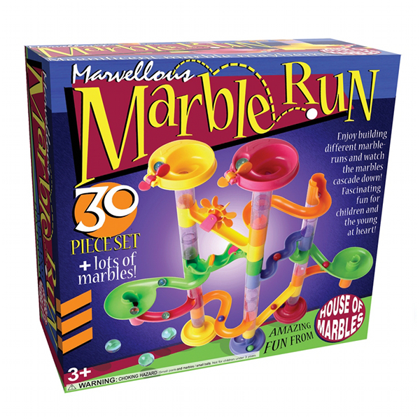 MARBLE RUNS - 30 PIECES