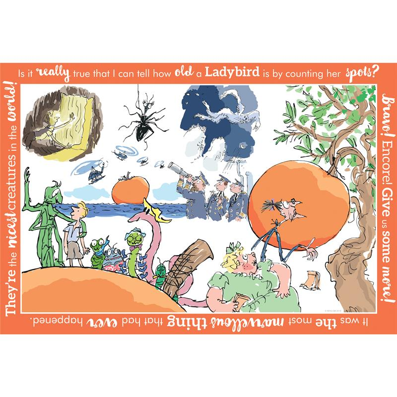 JAMES & THE GIANT PEACH - 250 PIECE JIGSAW