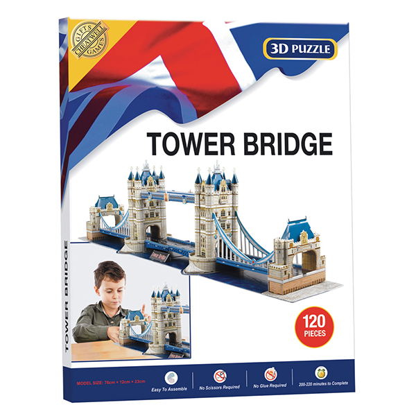 LANDMARK 3D PUZZLE- TOWER BRIDGE