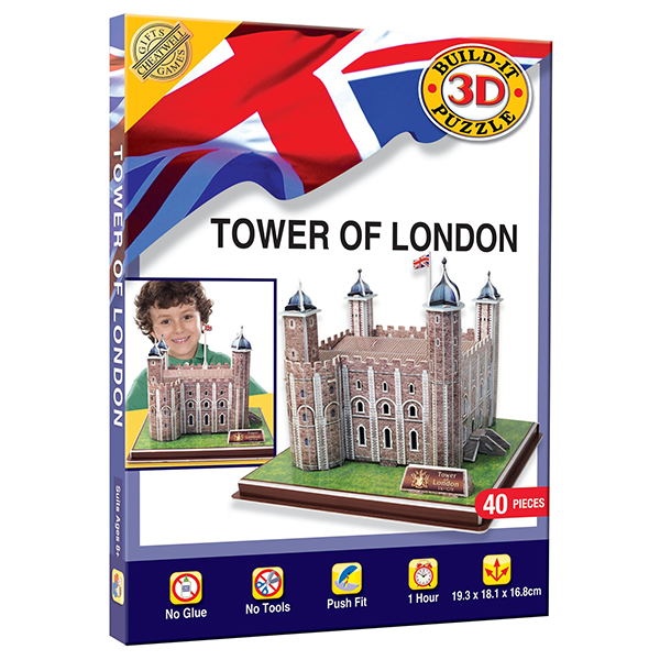 LANDMARK 3D PUZZLE- TOWER OF LONDON