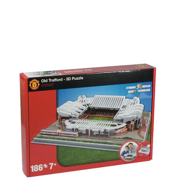 FOOTBALL STADIUM 3D PUZZLES - MANCHESTER UNITED - OLD TRAFFORD