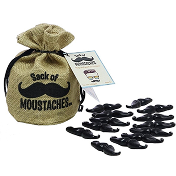 SACK OF MOUSTACHES