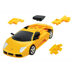 3D PUZZLE CAR LAMBORGHINI YELLOW