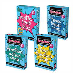 SET OF ALL FOUR MATHS CARD GAMES
