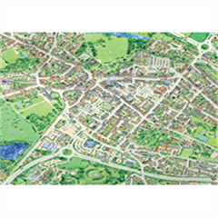 JIGRAPHY CITYSCAPES CIRENCESTER 100 PIECE
