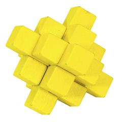 COLOUR BLOCK PUZZLES - YELLOW