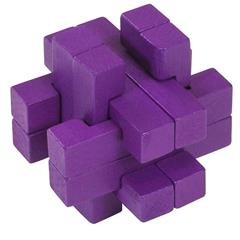 COLOUR BLOCK PUZZLES - PURPLE
