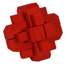 COLOUR BLOCK PUZZLES - RED