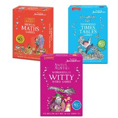 SET OF ALL THREE DAVID WALLIAMS GAMES