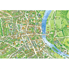 JIGRAPHY CITYSCAPES HENLEY ON THAMES 100 PIECE