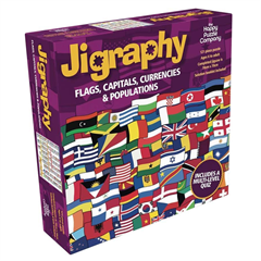 JIGRAPHY FLAGS, CAPITALS, CURRENCIES AND POPULATIONS