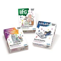 SET OF THREE MATHS & SPELLING GAMES