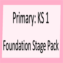 Foundation Stage Pack 2016