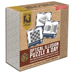 OPTICAL ILLUSION PUZZLE A DAY