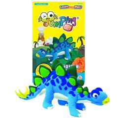 JUMPING CLAY - DINOSAUR KIT STEGOSAURUS